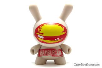 Hamburger Dunny Andy Warhol 2 Kidrobot Front