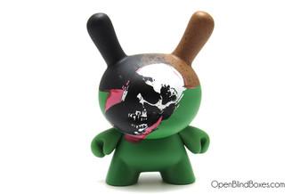 Skull Andy Warhol Dunny 2 Kidrobot Front