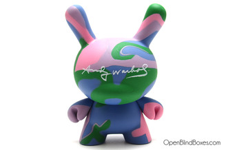 Pastel Camo Andy Warhol Dunny 2 Kidrobot Front