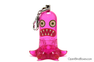 Pink Squid Monster CAPSL Jason Freeny Front