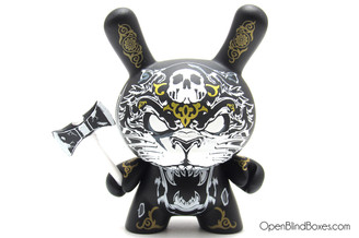 Hydro 74 Gold Apocalypse Dunny Kidrobot Front