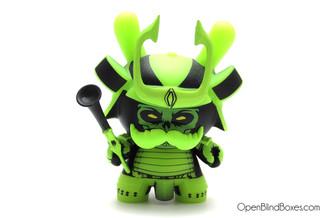 Jon-Paul Kaiser Ashigaru 2012 Green Dunny Kidrobot Front