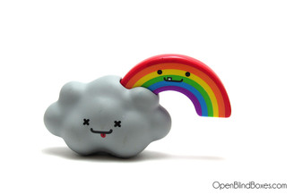 Stormy & Rainbow BFF's Series 4 Travis Cain Kidrobot Front