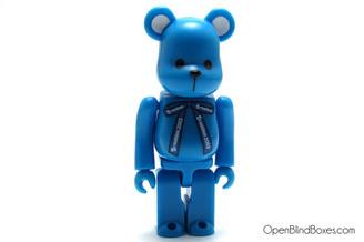 Blue Teddy a-nation be@rbrick set A Medicom Front