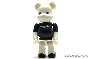Crazysmiles White Be@rbrick Michael Lau ToyCon Series 1 Front