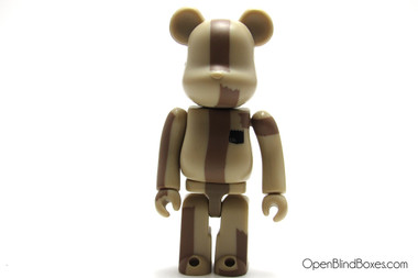 The Brown Bear Be@rbrick Michael Lau Medicom ToyCon Series 2 Front