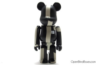 The Black Bear Be@rbrick Michael Lau Medicom ToyCon Series 2 Front