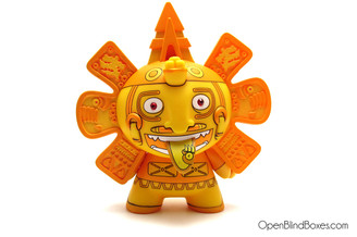 The Beast Brothers Calendario Azteca 2 Dunny Gold Front