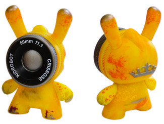 Observation Drone IV Side Show Dunny Yellow Cris Rose 2013