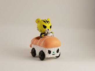 Tokidoki Salaryman Sushi Cars Tiger