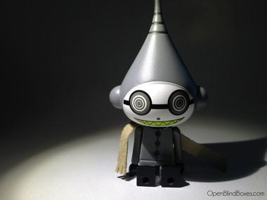 Dalek Ice-Bot Grey Kidrobot Front
