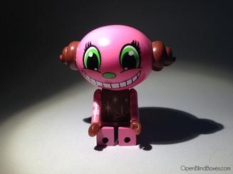 Sketbots Pink Egg Head Sket One Front