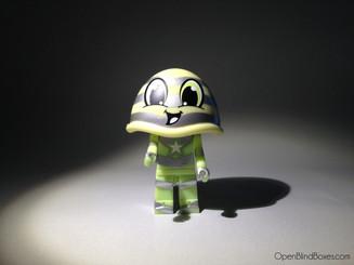 Sketbots Green Hood Sket One Kidrobot Front