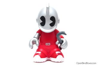 Kidvandal Red Mini Bots Kidrobot Front