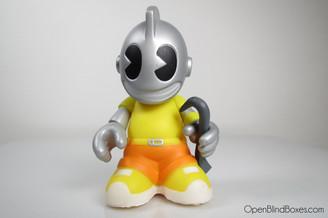 Kidvandal Yellow Mini Bots Kidrobot Front