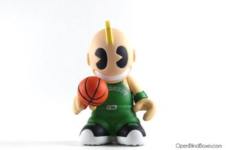 Kidballer Green Mini Bots Kidrobot Front