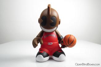 Kidballer Red Mini Bots Kidrobot Front