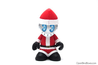 Kid Hohoho Red And White Kidrobot Front