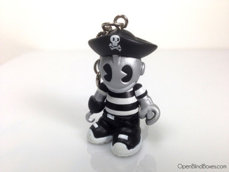 Pirate Super Mini Keychain Series 4 Kidrobot Front