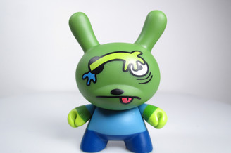 David Horvath Wonda Dunny from 2-Faced Set 2 by Kidrobot Front