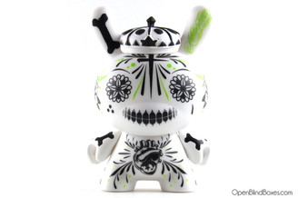 Maxx242 Fighting For Dreams 2Tone White Dunny Kidrobot Front