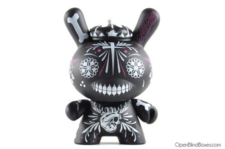 Maxx242 Fighting For Dreams 2Tone Black  Dunny Kidrobot Front