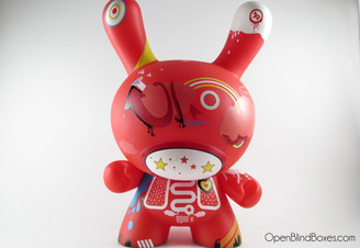 Doma Red 8 Inch Dunny Kidrobot Front