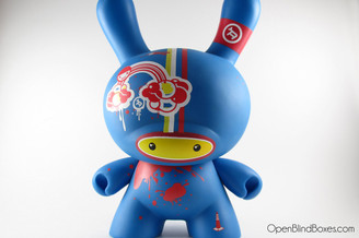 Doma Blue 8 Inch Dunny Kidrobot Front