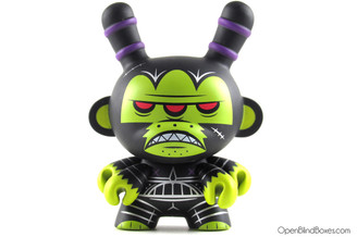 Kronk Mutant Ape Of No Hope Black Apocalypse Dunny Kidrobot Front