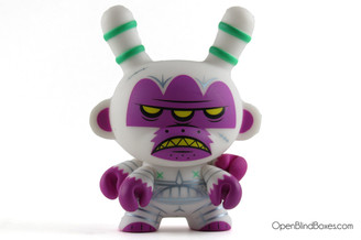 Kronk Mutant Ape Of No Hope White Apocalypse Dunny Kidrobot Front