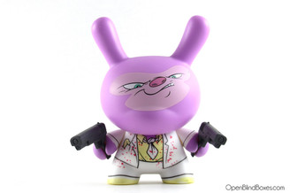 Sam Fout Capo Art Of War Dunny Kidrobot Front