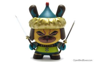 Genghis Kano Art Of War Dunny Kidrobot front