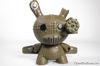 DrilOne A-10 Tank Destroyer Olive Dunny Art Of War Front
