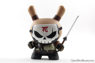 Huck Gee Art Of War Dunny Kidrobot Front