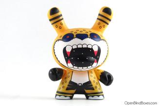 N.A.H.U.A.L Jaguar Azteca Dunny Kidrobot Front