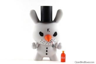 Frank Kozik Crusty Christmas Dunny Kidrobot Front