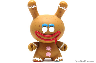 Kronk Gingerbread Holiday Dunny Kidrobot Front