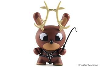 Chuckboy Naughty Reindeer Dunny Kidrobot Front