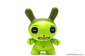 Dalek Square Eyes Green Dunny Kidrobot Front