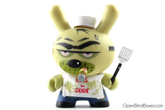 Frank Kozik Bad Messy Cook 2009 Dunny Front