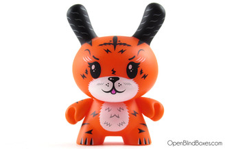 Squink Ken The Mysterious Tigerrr 2011 Dunny Front