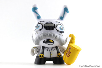 Scribe Saxophone Costume Mardivale Dunny Kidrobot Front