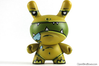 Joe Ledbetter The Exterminator Series 3 Dunny Kidrobot Front