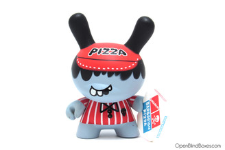 Mad Barbarians Pizza Boy Series 5 Dunny Kidrobot Front