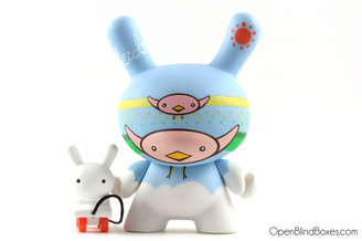 CW Big And Small Fatale Dunny Kidrobot Front
