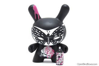 Lady Aiko Lady Butterfly Fatale Dunny Kidrobot Front