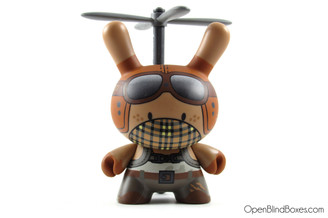 Copter Boy Post Apocalypse Huck Gee Dunny Front