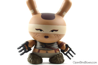 Feral Girl Huck Gee Post Apocalypse Dunny Front