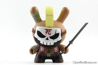 Baseball Huck Gee Post Apocalypse Dunny Front