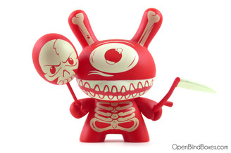 Mimic Ye Olde English Dunny Red Front Kidrobot